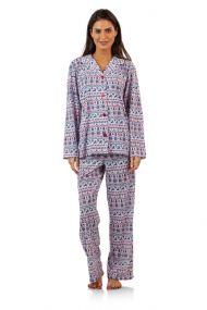 BHPJ By Bedhead Pajamas Women s Brushed Back Soft Knit Pajama Set - Navy  Fair Isle a941d5053