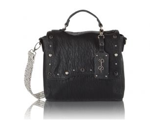 Jessica Simpson Skye Flap Crossbody Shoulder Bag Santori Black Look Fabulous And Functional