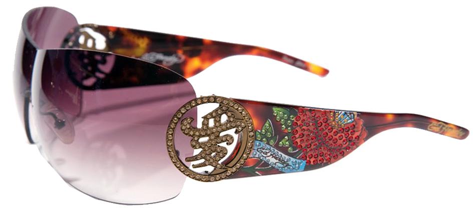 New Ed Hardy Sunglasses 024 Tortoise