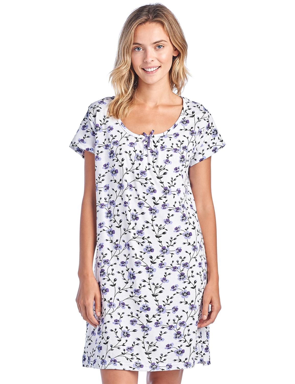 8d9d9c85816 Short Sleeve Nightshirts